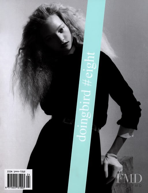 Gemma Ward featured on the Doing Bird cover from March 2005