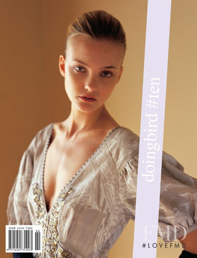 Caroline Trentini featured on the Doing Bird cover from March 2006