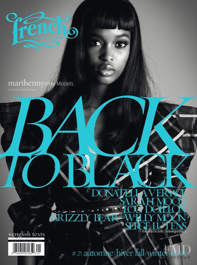Marihenny Rivera Pasible featured on the French Revue De Modes cover from September 2012