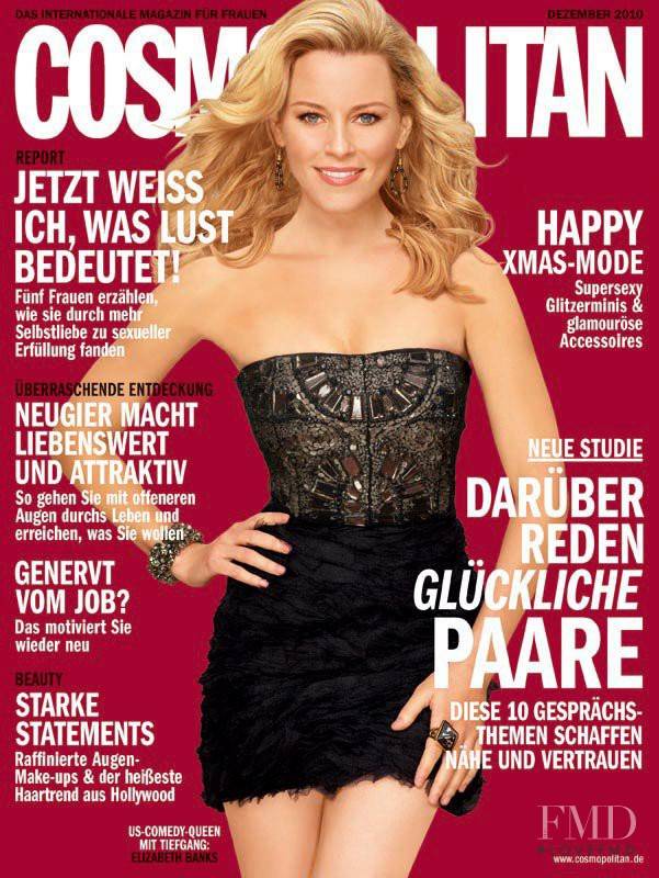 Elizabeth Banks featured on the Cosmopolitan Germany cover from December 2010