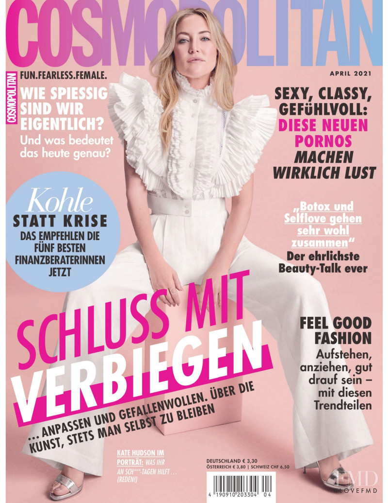 featured on the Cosmopolitan Germany cover from April 2021