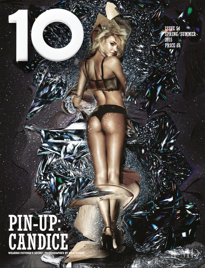 Candice Swanepoel featured on the 10 Magazine cover from February 2015