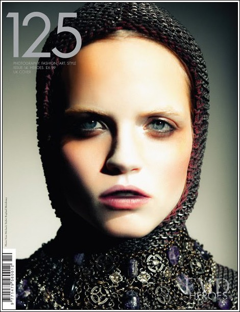 Meg McCabe featured on the 125 Magazine cover from November 2009
