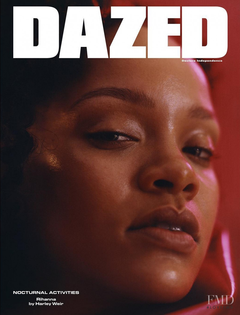 Rihanna featured on the Dazed cover from November 2017