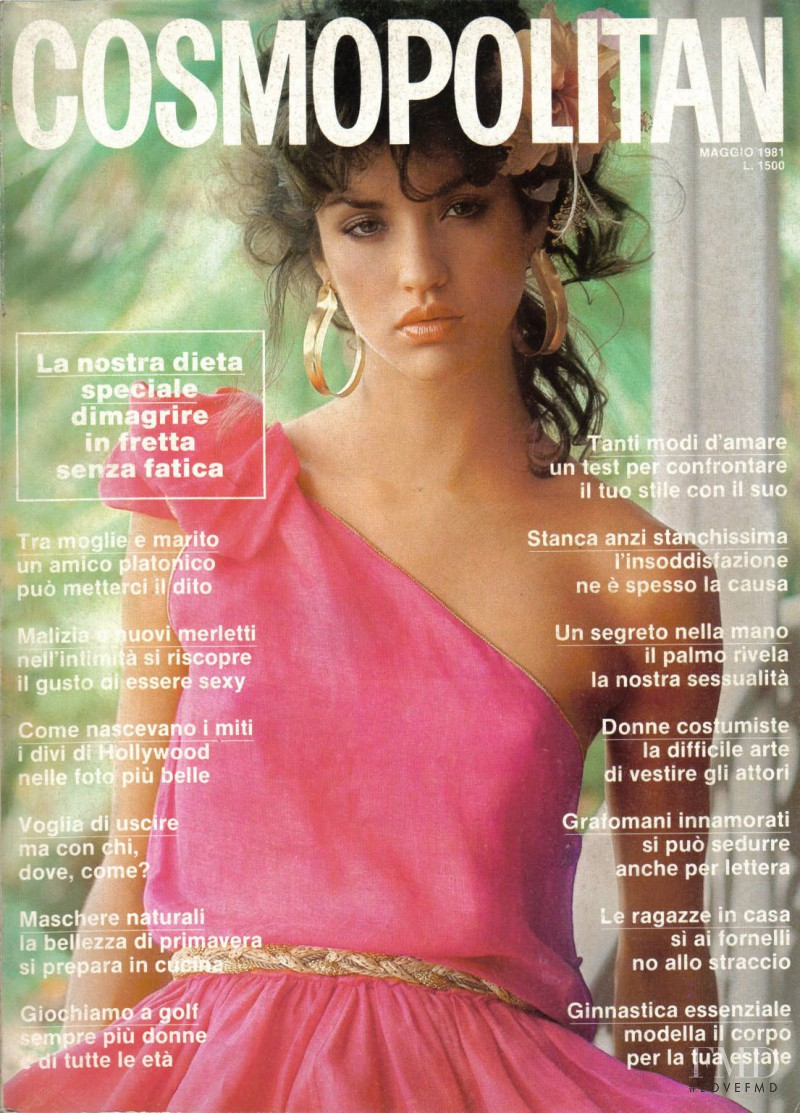 Model Magazines List: Cover Of Cosmopolitan Italy With Janice Dickinson, March