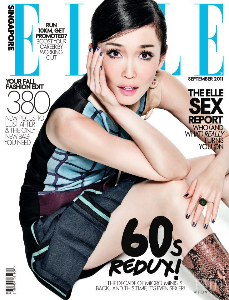 featured on the Elle Singapore cover from September 2011