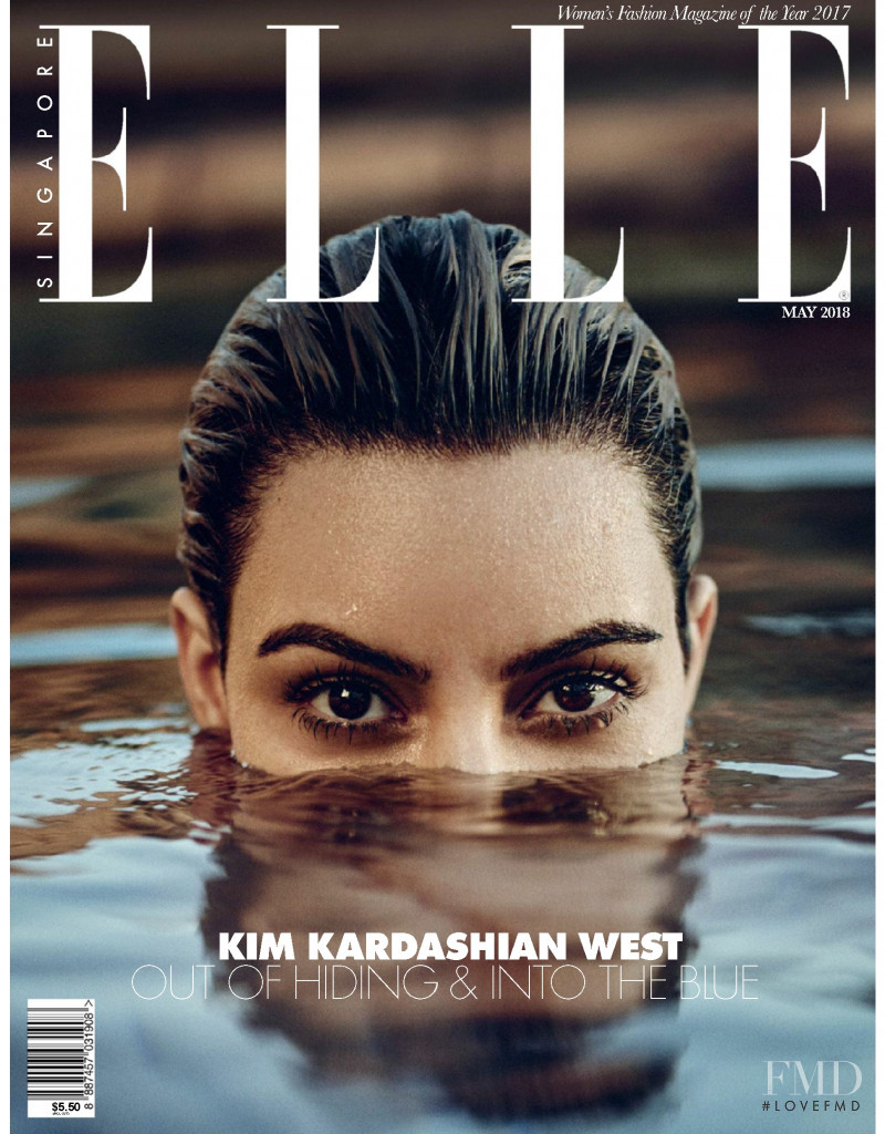 featured on the Elle Singapore cover from May 2018