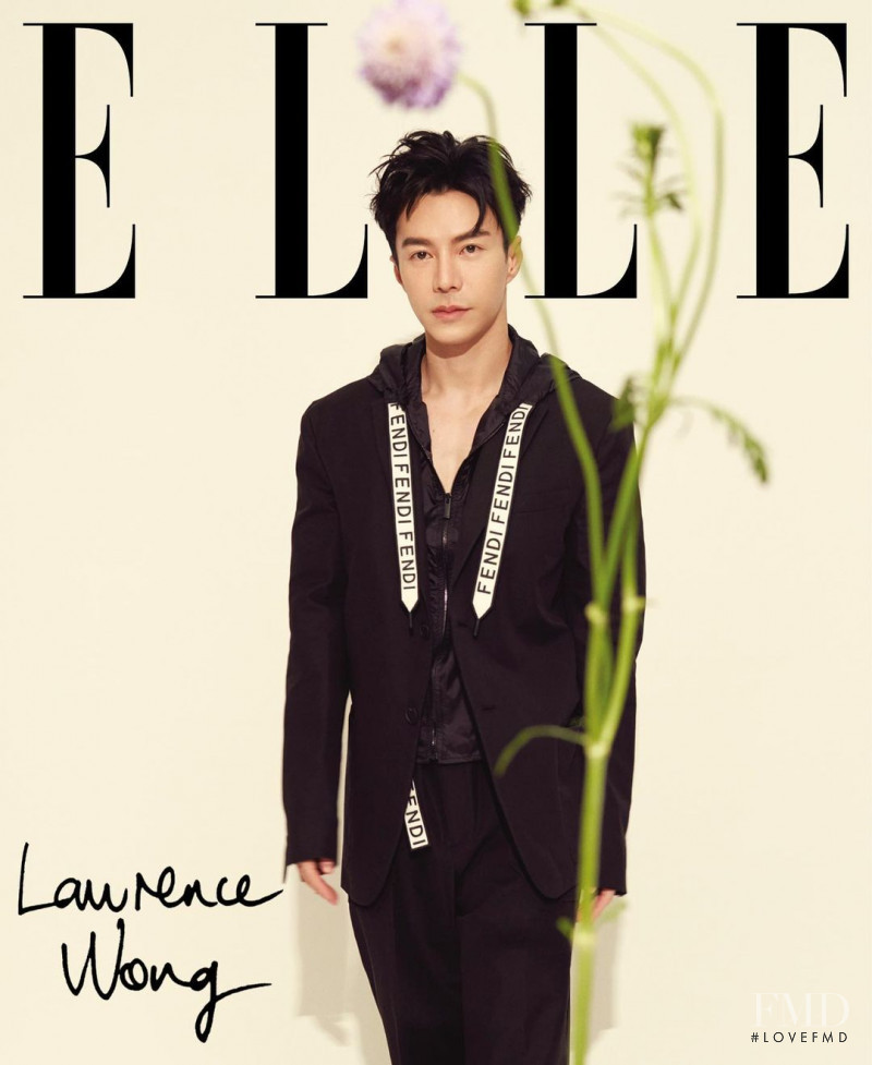 Lawrence Wong  featured on the Elle Singapore cover from August 2020