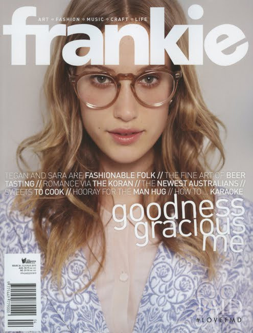 featured on the Frankie magazine cover from July 2010