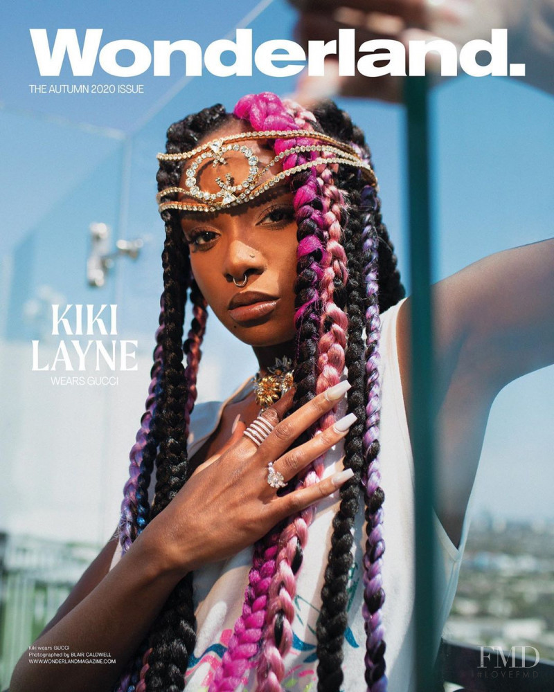 Kiki Layne featured on the Wonderland cover from August 2020