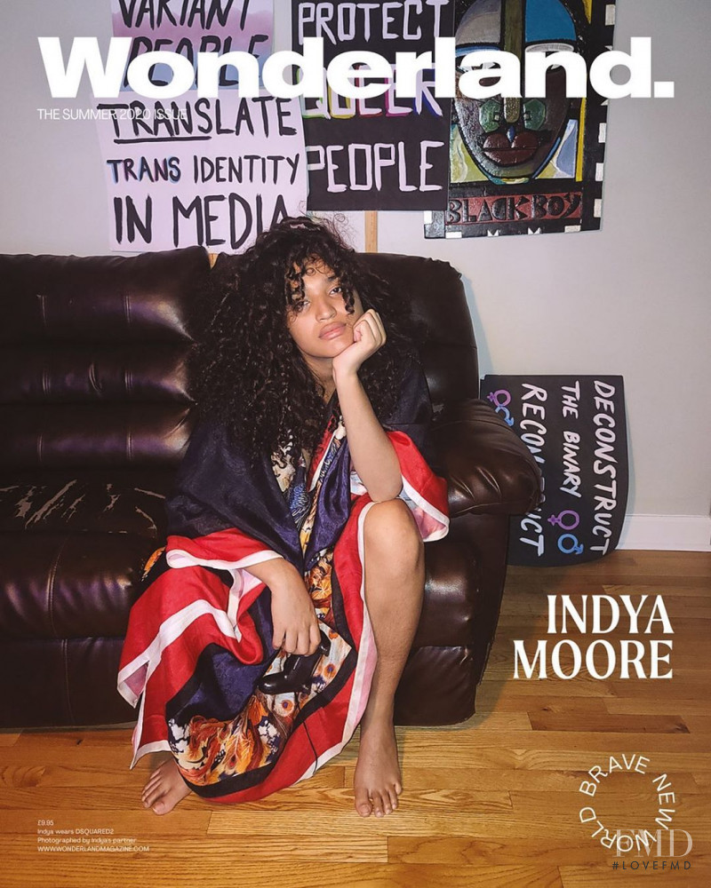 Indya Moore featured on the Wonderland cover from May 2020