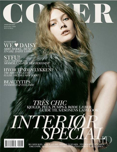Constance Jablonski featured on the Cover cover from September 2009