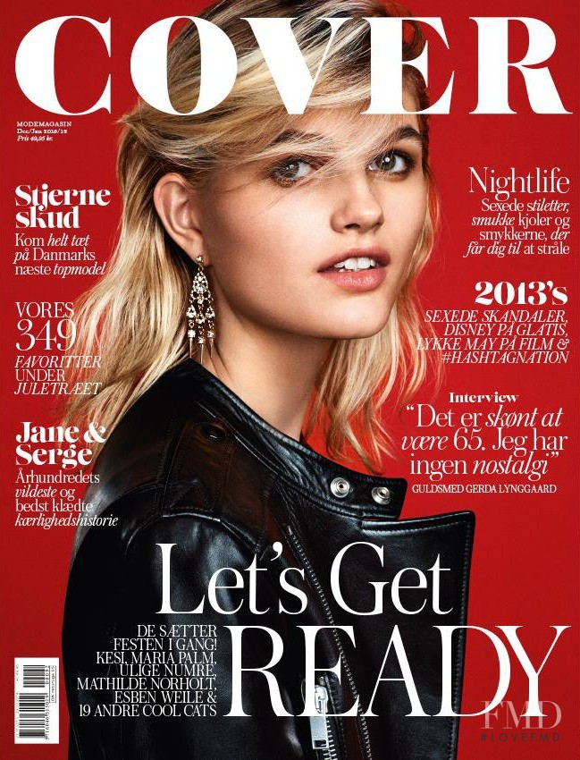 Louise Mikkelsen featured on the Cover cover from December 2013