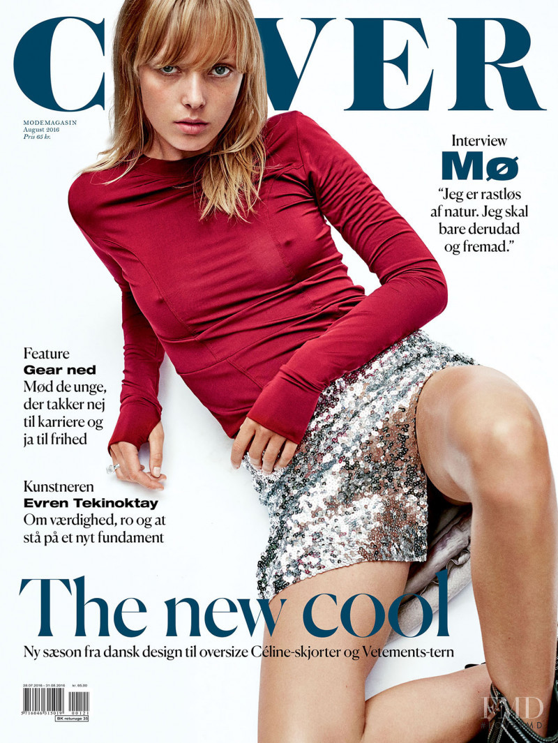 Ulrikke Hoyer featured on the Cover cover from August 2016