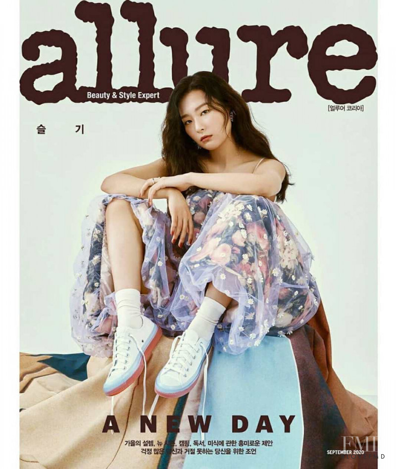 Seulgi  featured on the Allure Korea cover from September 2020