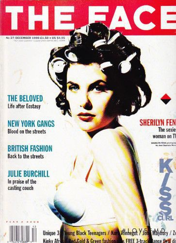 Sherilyn Fenn featured on the The Face cover from December 1990