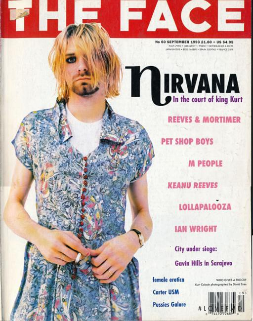 featured on the The Face cover from September 1993