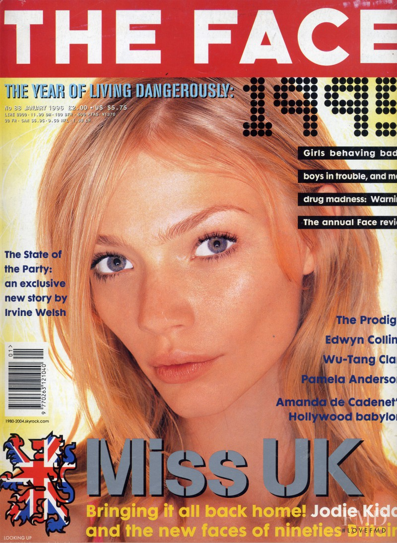featured on the The Face cover from January 1996