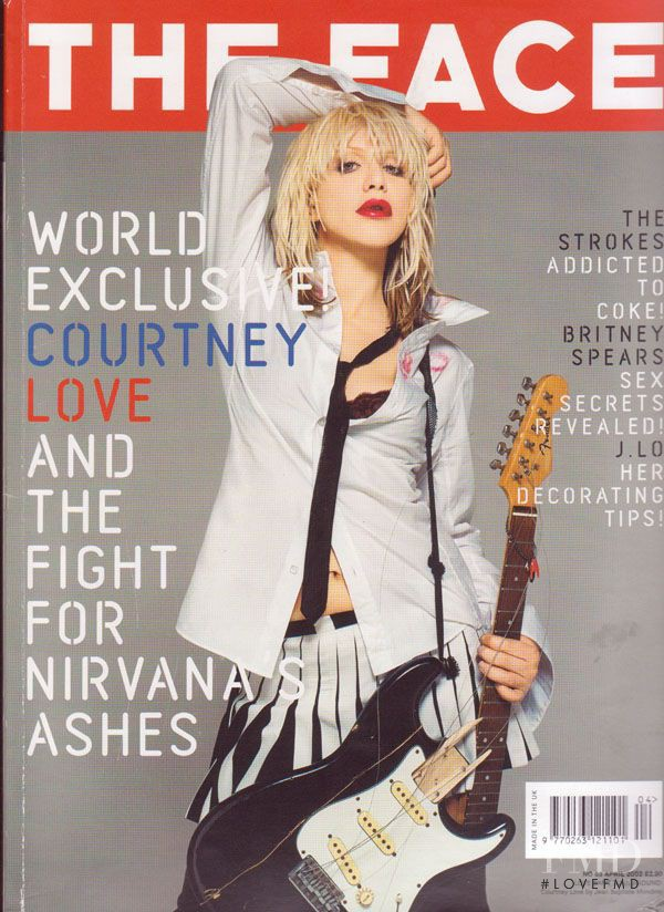 featured on the The Face cover from April 2002