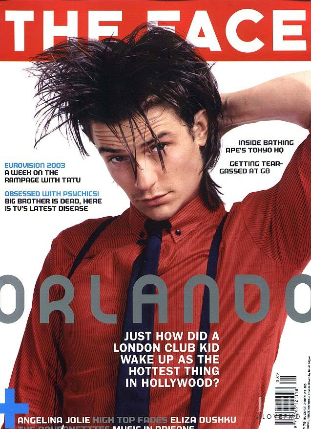 featured on the The Face cover from August 2003