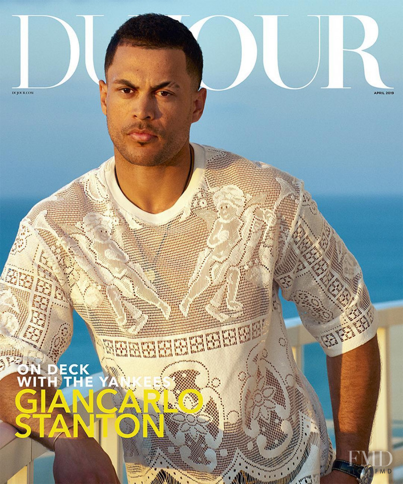 featured on the DuJour cover from April 2019