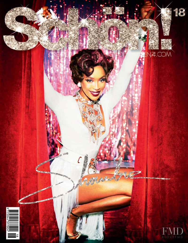 Naomi Campbell featured on the Schön! cover from September 2012