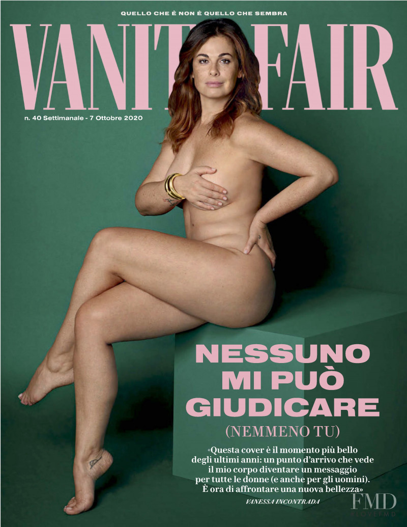 featured on the Vanity Fair Italy cover from October 2020