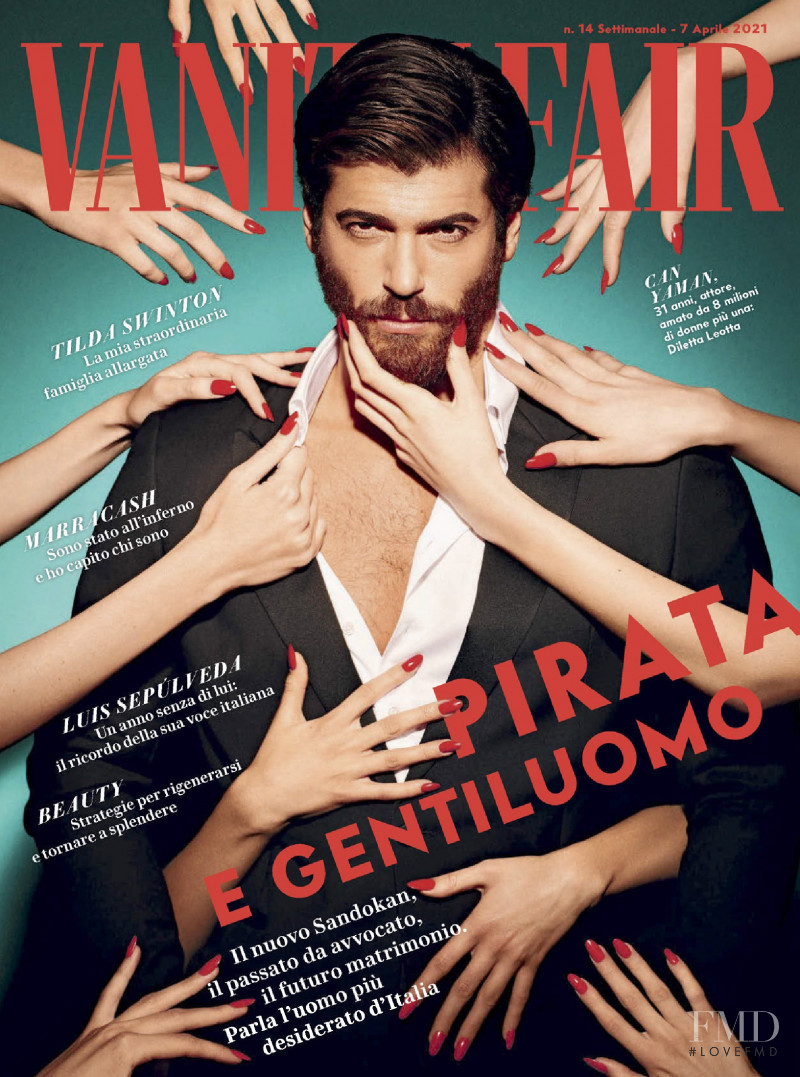 featured on the Vanity Fair Italy cover from April 2021