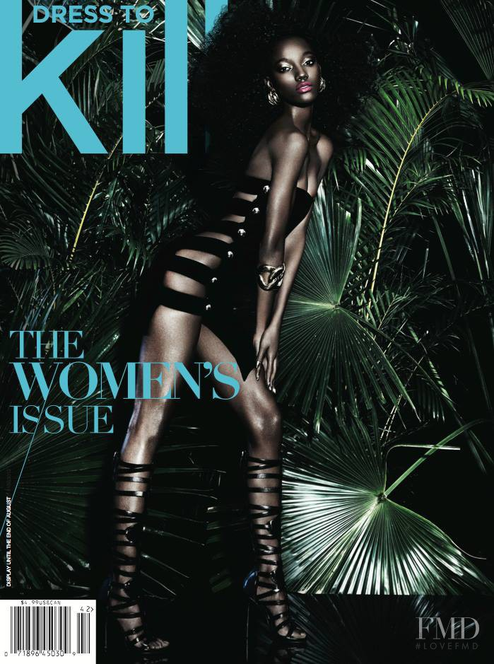 featured on the Dress To Kill Magazine cover from June 2014