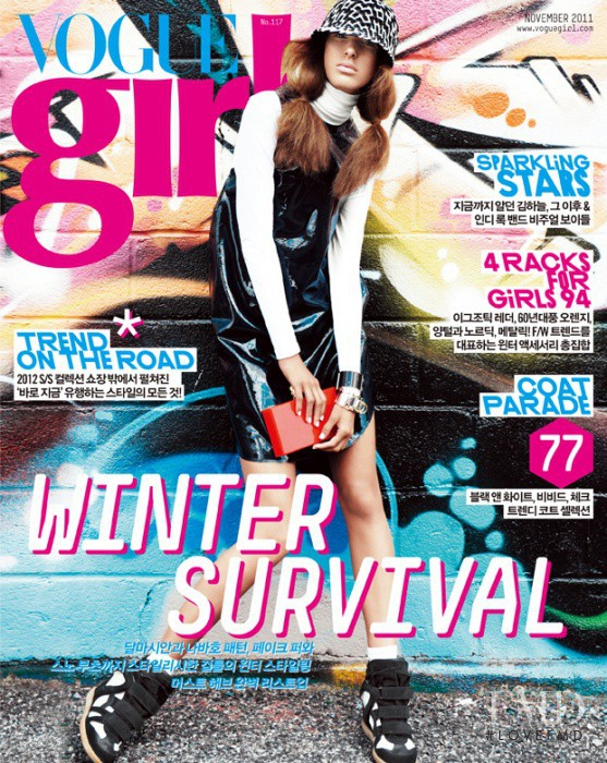 featured on the Vogue Girl Korea cover from November 2011