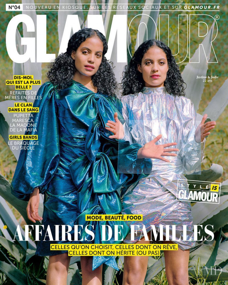 featured on the Glamour France cover from September 2018