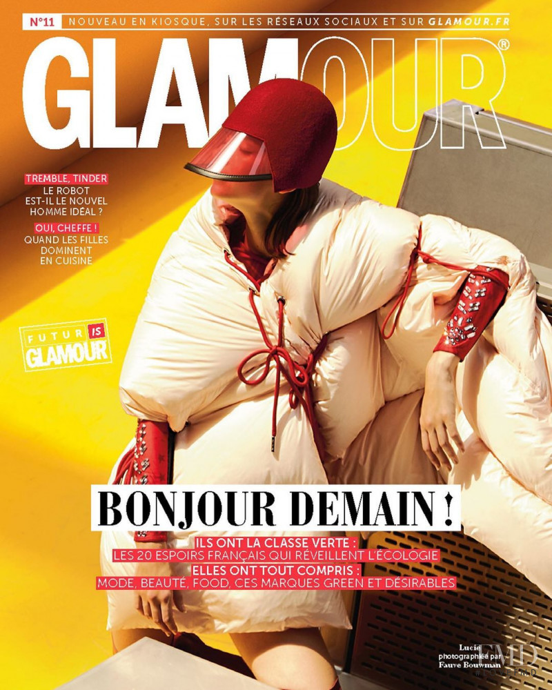 featured on the Glamour France cover from October 2019