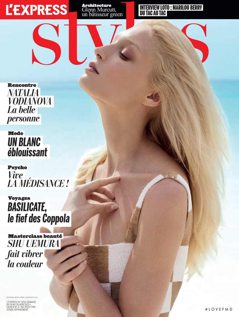Melissa Tammerijn featured on the L\'Express Styles cover from June 2013