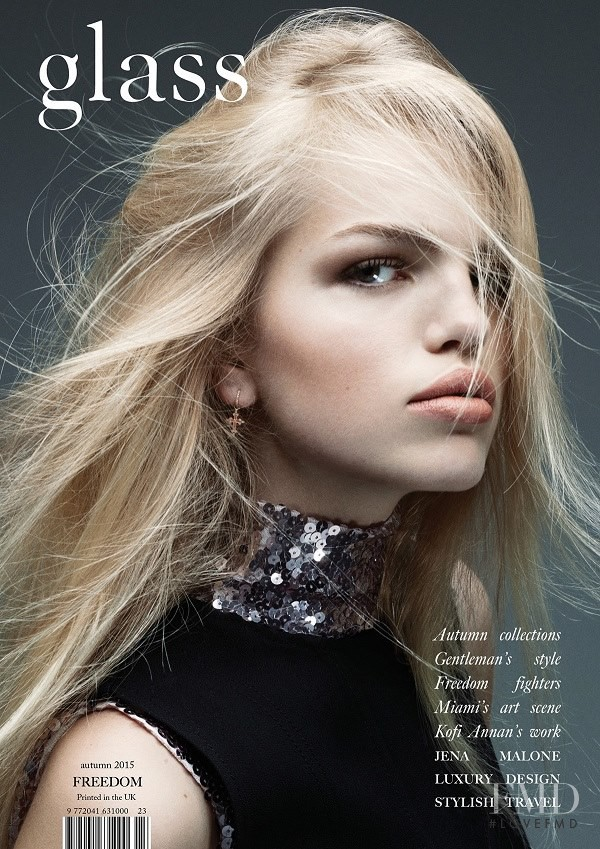 Daphne Groeneveld featured on the glass UK cover from September 2015