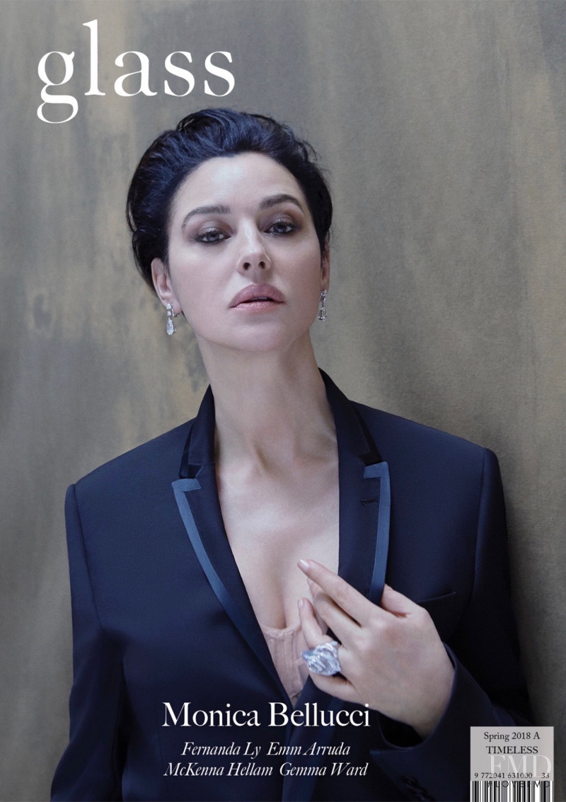Monica Bellucci featured on the glass UK cover from February 2018