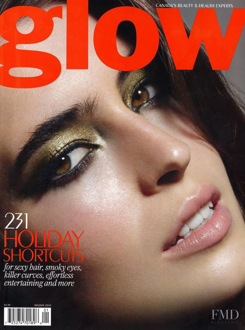 Emma Hansen featured on the Glow cover from December 2010