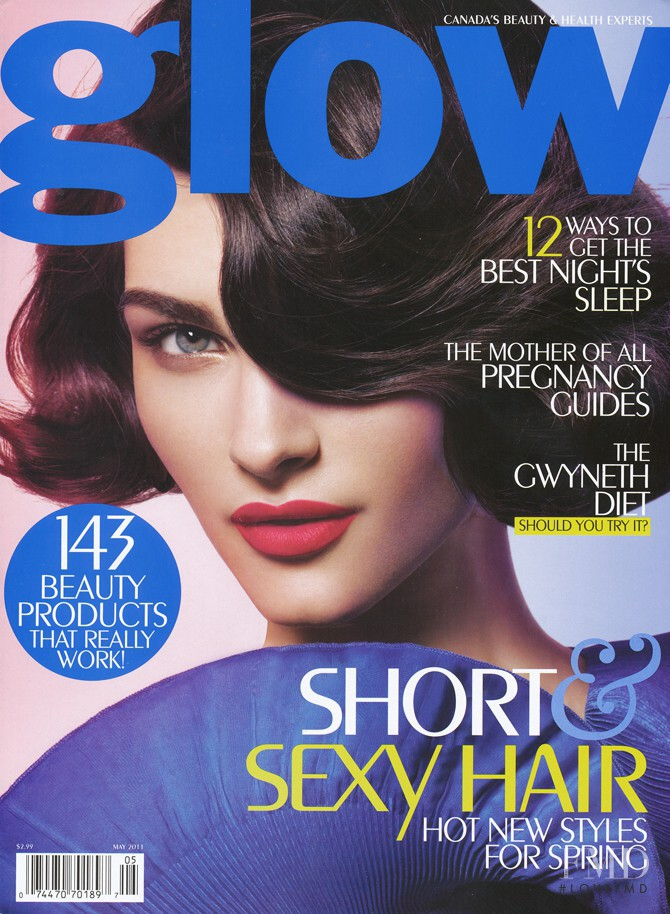 featured on the Glow cover from May 2011