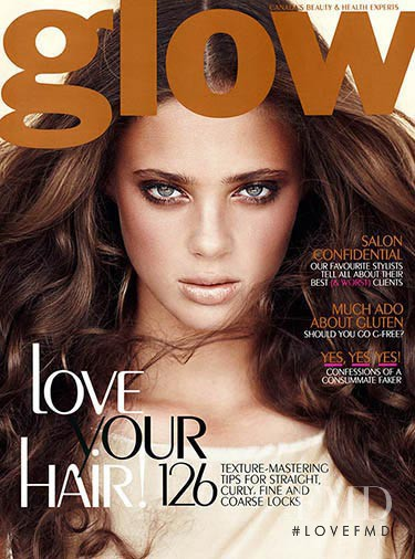 Jacqueline Summers featured on the Glow cover from November 2011