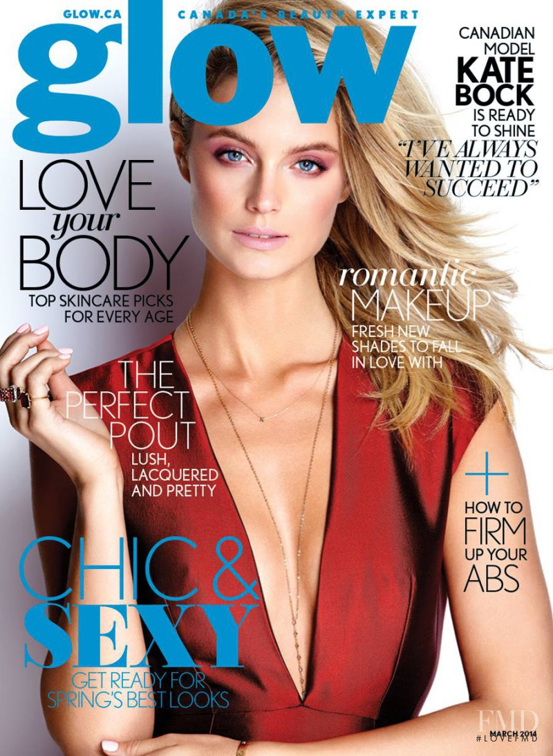 Kate Bock featured on the Glow cover from March 2014