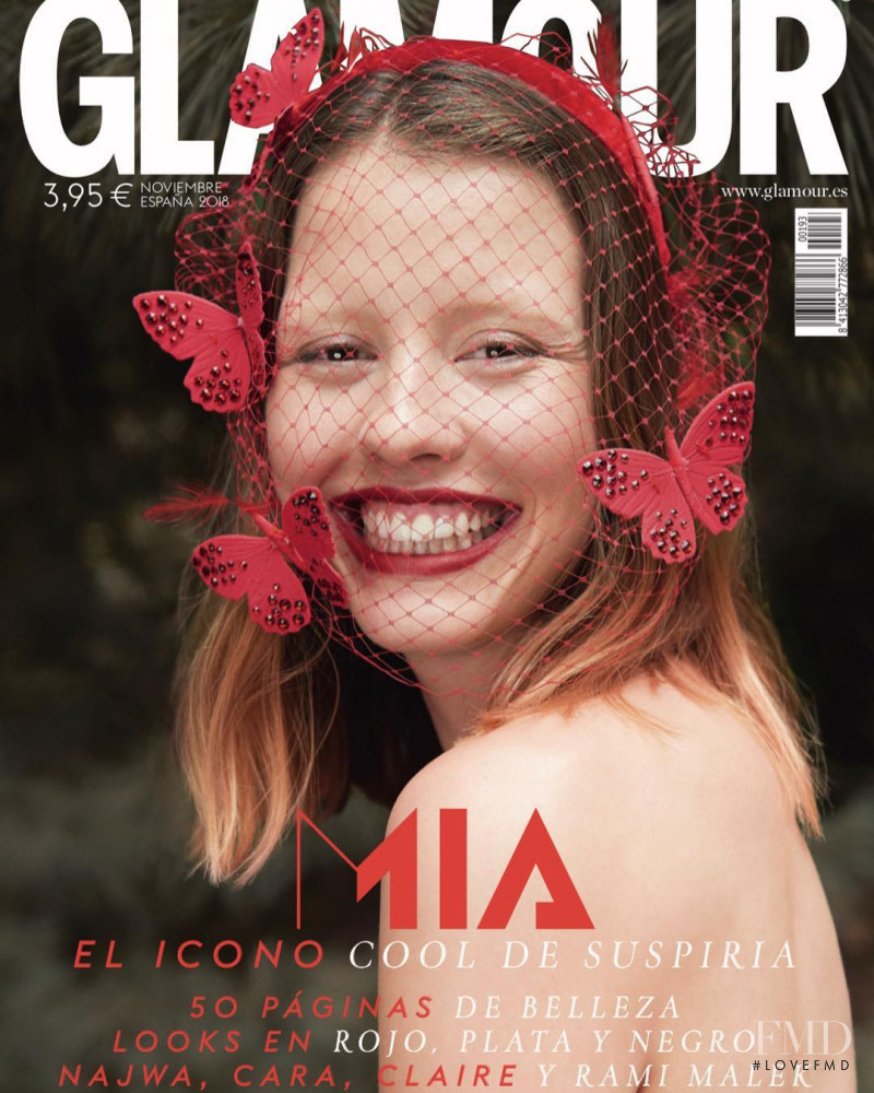 featured on the Glamour Spain cover from November 2018