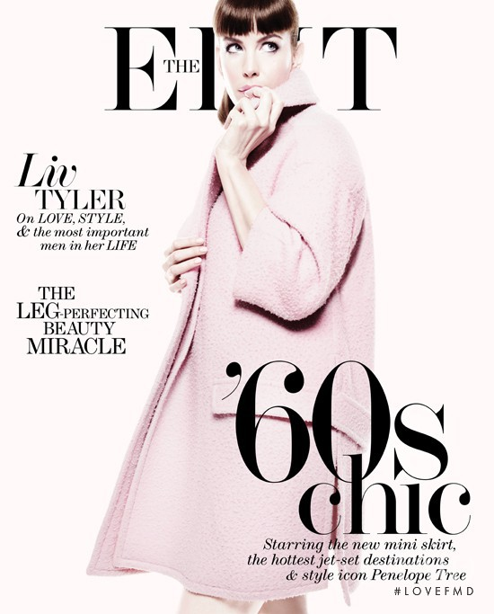 Liv Tyler featured on the Net-A-Porter Magazine cover from July 2013