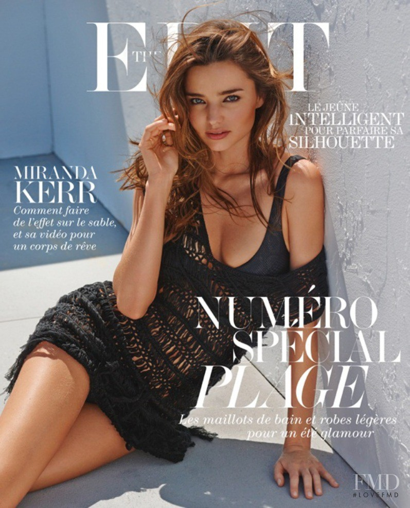 Miranda Kerr featured on the Net-A-Porter Magazine cover from June 2013