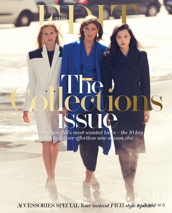 Marikka Juhler, Elisabeth Erm, Sung Hee Kim featured on the Net-A-Porter Magazine cover from September 2013