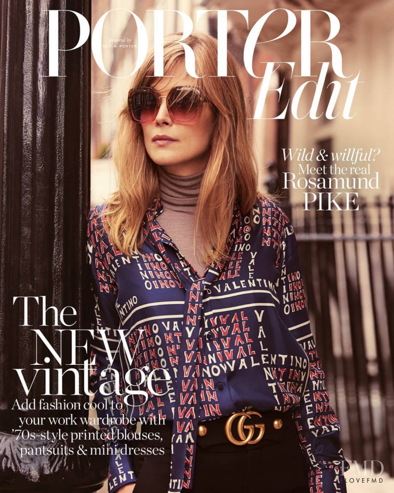 featured on the Net-A-Porter Magazine cover from November 2018