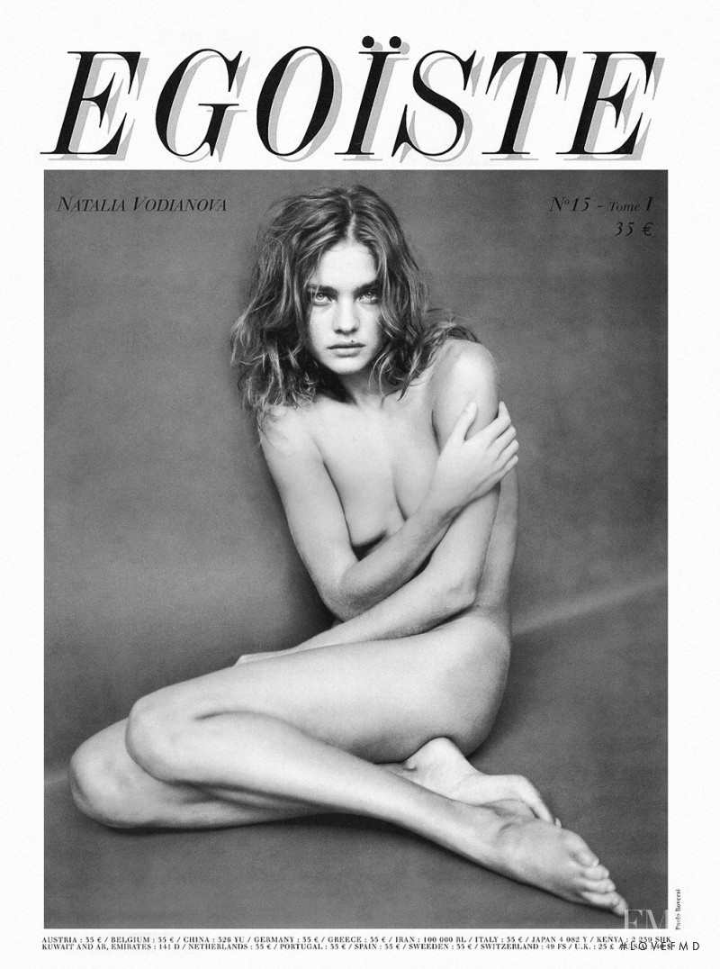 Natalia Vodianova featured on the Journal Egoïste cover from August 2006