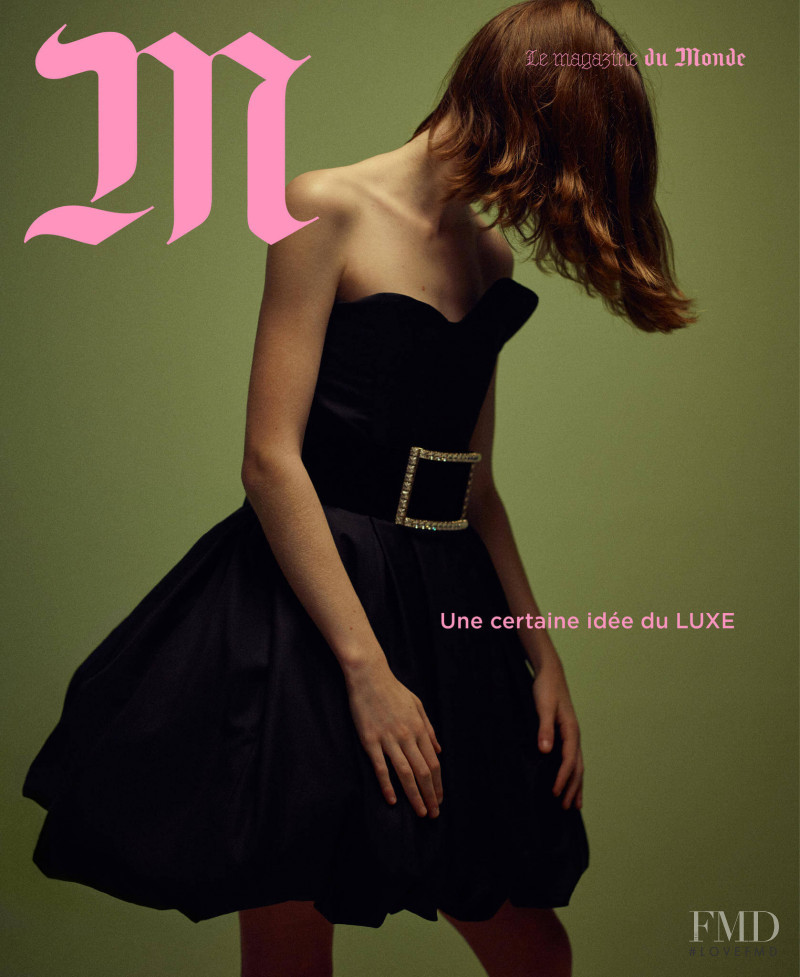 Isabel Jones featured on the M Le Monde cover from December 2018