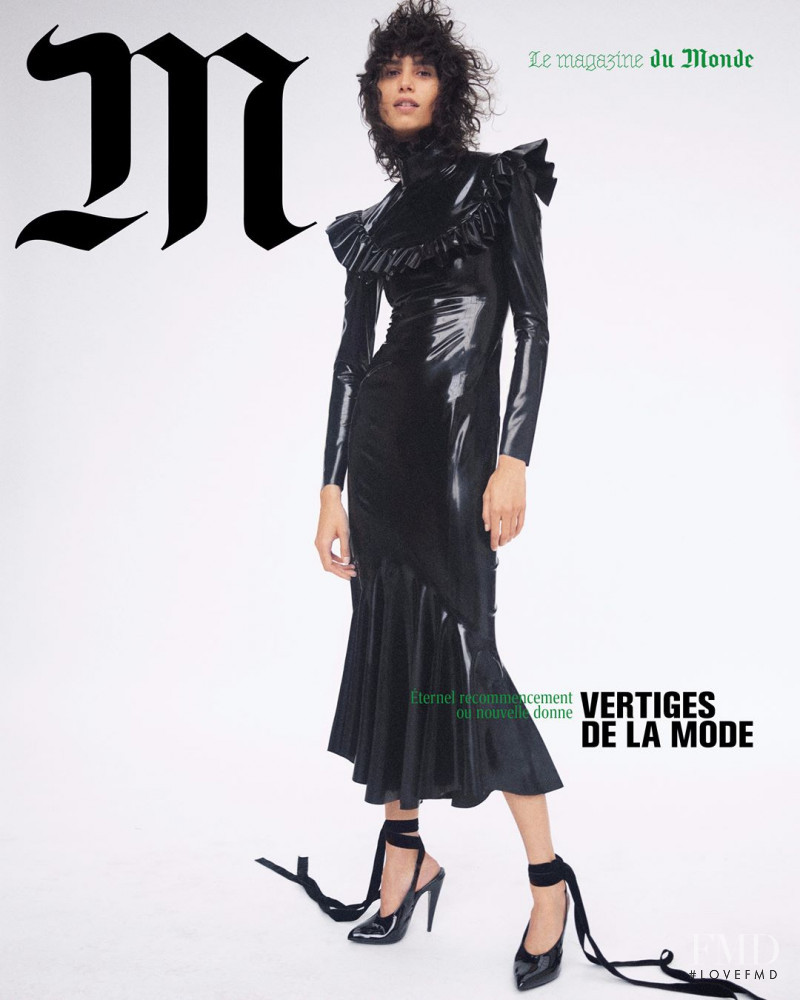 Mica Arganaraz featured on the M Le Monde cover from September 2020