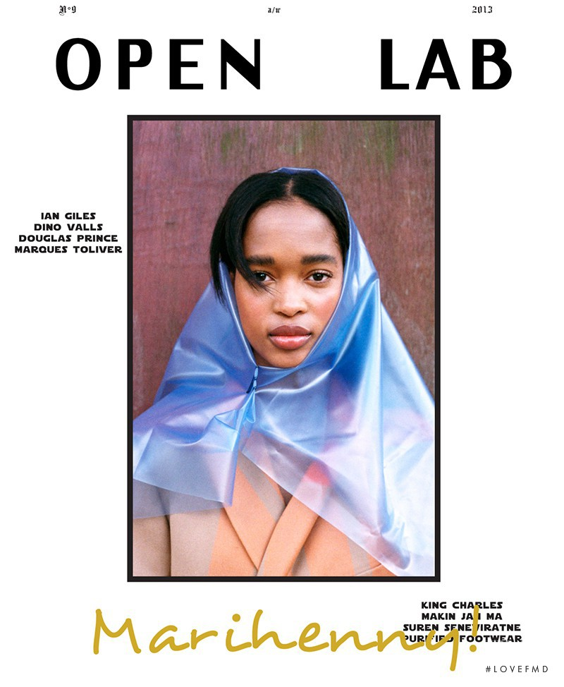 Marihenny Rivera Pasible featured on the Open Lab cover from September 2013