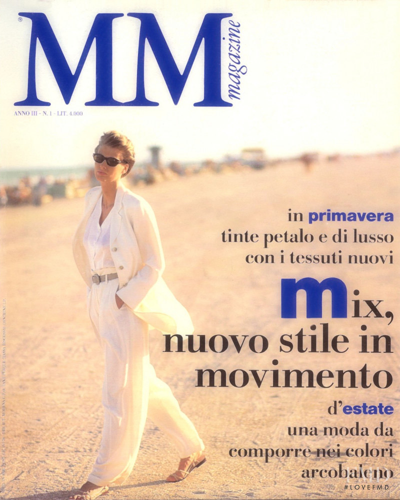 Cathy Fedoruk featured on the MM Magazine cover from January 1992