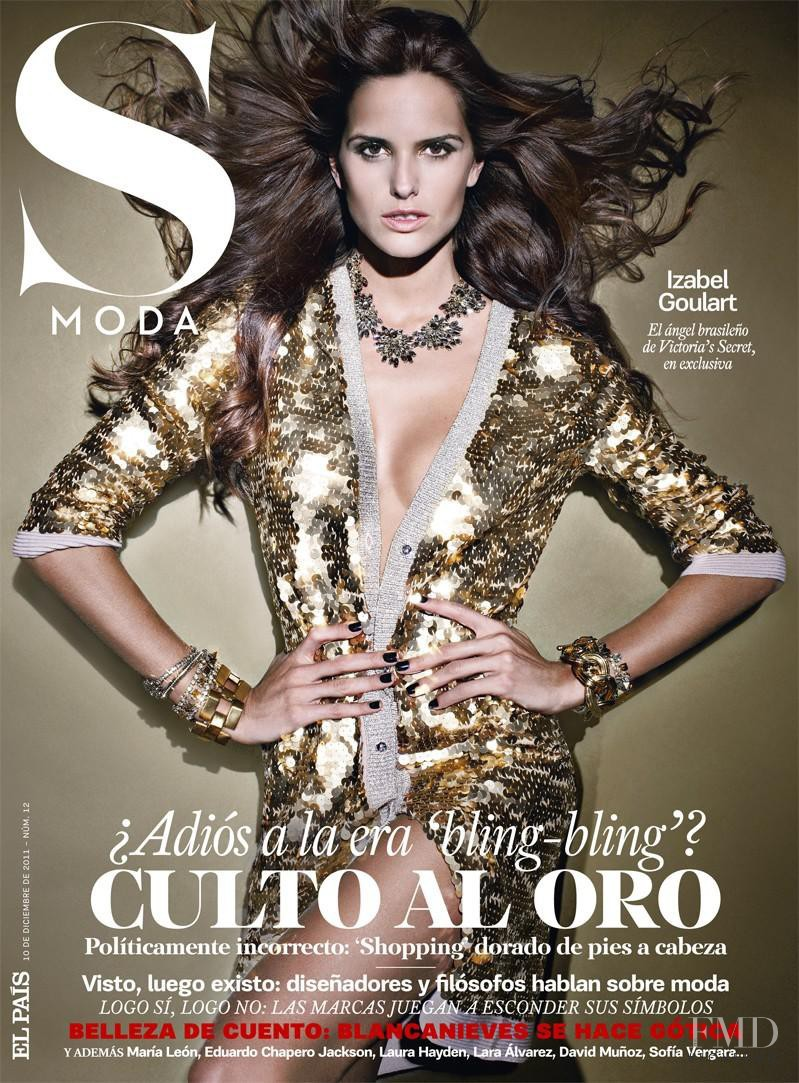 Izabel Goulart featured on the S Moda cover from December 2011